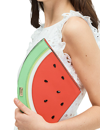 Kate Spade New York Make A Splash Watermelon Clutch