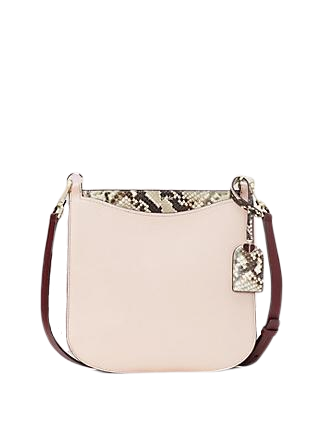 Kate Spade New York Margaux Embossed Snake Large Crossbody