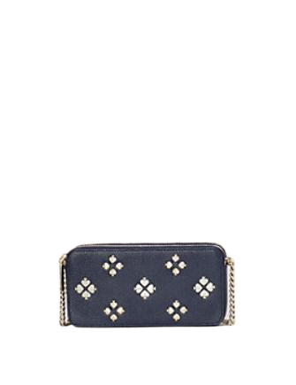 Kate Spade New York Margaux Floral Double Zip Mini Crossbody