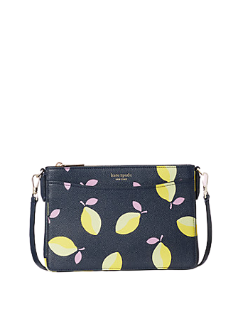 Kate Spade New York Margaux Lemons Medium Convertible Crossbody