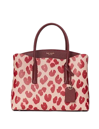 Kate Spade New York Margaux Leopard Large Satchel