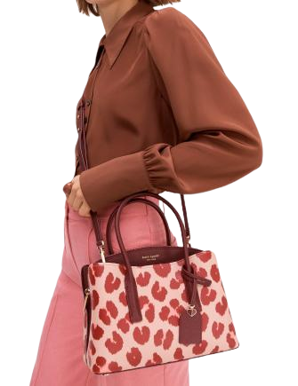 Kate Spade New York Margaux Leopard Medium Satchel