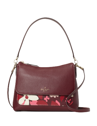 Kate Spade New York Melody Forest Floral Flap Shoulder Bag