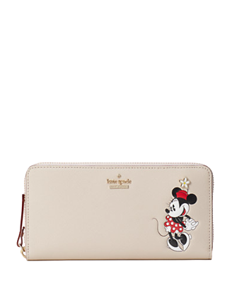 Kate Spade New York Minnie Mouse Ksny x Minnie Mouse Lacey Wallet