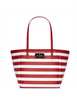 Kate Spade New York Kennywood Small Sidney City Stripe Tote