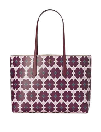 Kate Spade New York Molly Graphic Clover Large Tote