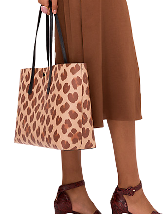 Kate Spade New York Molly Leopard Large Tote