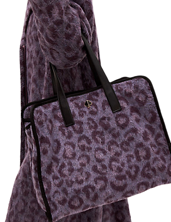 Kate Spade New York Morley Leopard Large Tote
