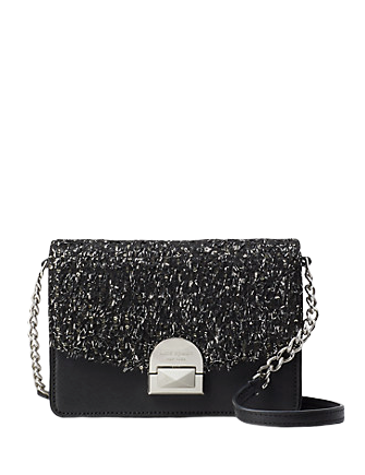 Kate Spade New York Neve Tinsel Convertible Flap Crossbody