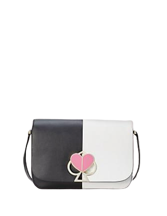 Kate Spade New York Nicola Bicolor Twistlock Medium Shoulder Bag