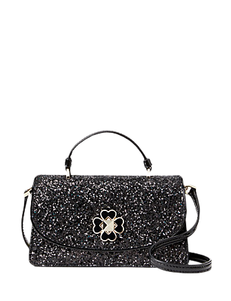 Kate Spade New York Odette Glitter Mini Top Handle Crossbody