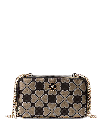 Kate Spade New York Odette Jacquard Chain Double Zip Crossbody