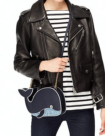 Kate Spade New York Off We Go Whale Crossbody