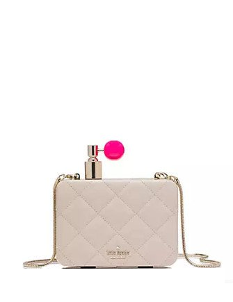 Kate Spade New York On Pointe Perfume Bottle Clutch