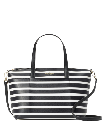 Kate Spade New York Patrice Sailing Stripe Satchel
