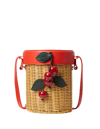 Kate Spade New York Picnic Wicker Crossbody