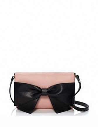 Kate Spade New York Hanover Street Aster Bow Front Crossbody