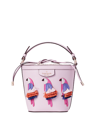 Kate Spade New York Pippa Flock Party Small Bucket Bag