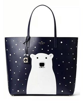 Kate Spade New York Polar Bear Cold Comforts Len Tote