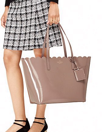 Kate Spade New York Lily Avenue Patent Carrigan Tote