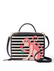 Kate Spade New York Rambling Roses Monkey Casie Satchel