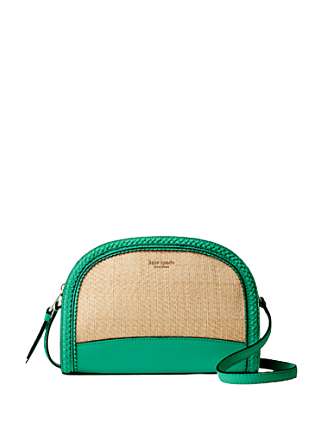 Kate Spade New York Reiley Straw Dome Crossbody