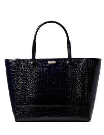 Kate Spade New York Riverside Street Bedford Embossed Leather Tote
