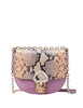 Kate Spade New York Robyn Exotic Medium Chain Saddle Bag