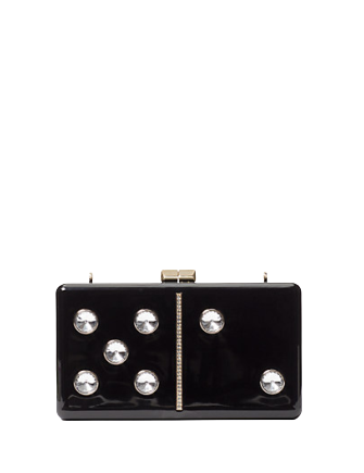 Kate Spade New York Roll Domino Clutch
