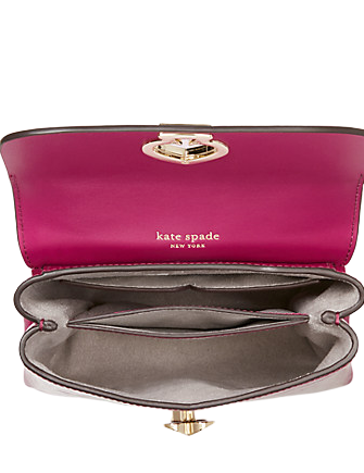 Kate Spade New York Romy Croc Embossed Mini Flap Top Handle Bag