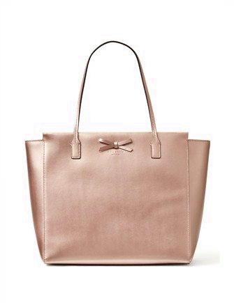 Kate Spade New York Metallic Sawyer Street Taden Tote