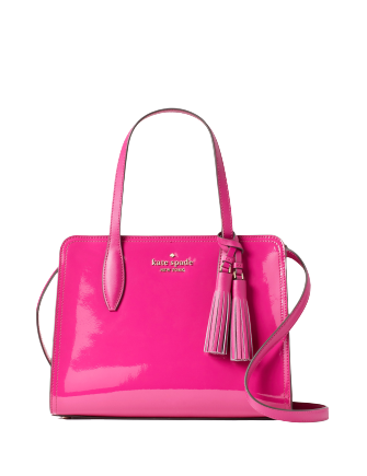 Kate Spade New York Rowe Patent Small Top Zip Satchel