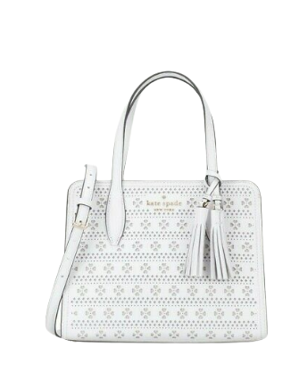 Kate Spade New York Rowe Small Perforated Top Zip Satchel