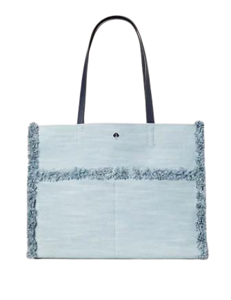 Kate Spade New York Sam Denim Large Pocket Tote