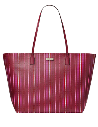 Kate Spade New York Shore Street Heart Stripe Margaretta Tote