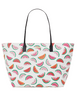 Kate Spade New York Shore Street Watermelon Margareta Tote