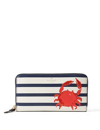 Kate Spade New York Shore Thing Crab Lacey Wallet