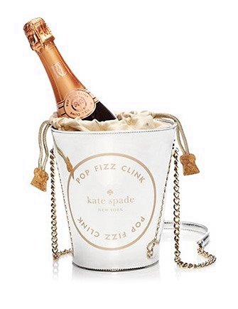 Kate Spade New York Place Your Bets Champagne Bucket Tote