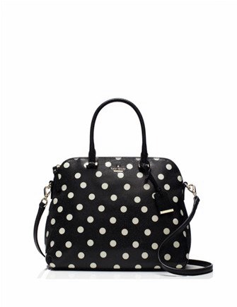 Kate Spade New York Small Rachelle Wellesley Printed Polka Dot Satchel
