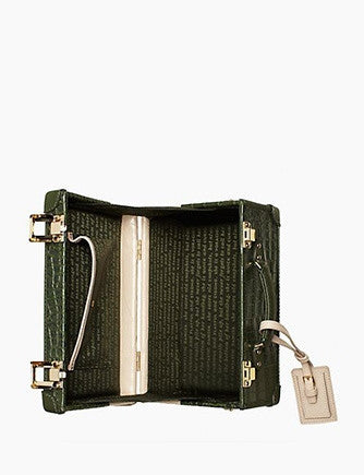 Kate Spade New York Smoke and Mirrors Corbin Croc Embossed Crossbody