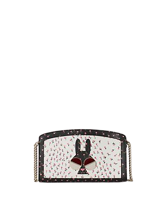 Kate Spade New York Spademals Money Bunny East West Crossbody