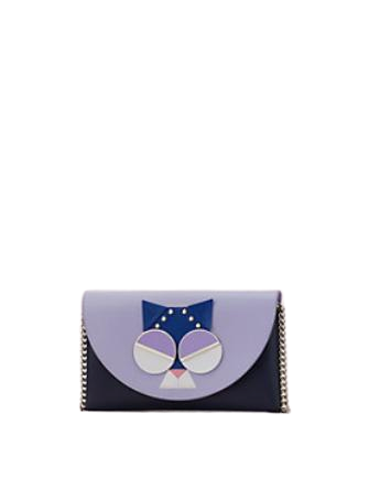 Kate Spade New York Spademals Smitten Kitten Chain Wallet Crossbody