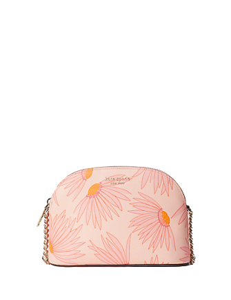 Kate Spade New York Spencer Falling Flower Small Dome Crossbody