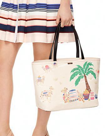 Kate Spade New York Spice Things Up Camel Francis Tote