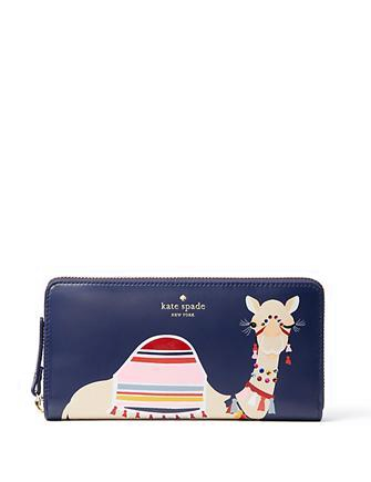Kate Spade New York Spice Things Up Camel Lacey Wallet