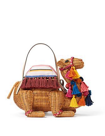 Kate Spade New York Spice Things Up Wicker Camel