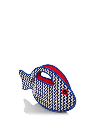 Kate Spade New York Splash Out Woven Fish Clutch