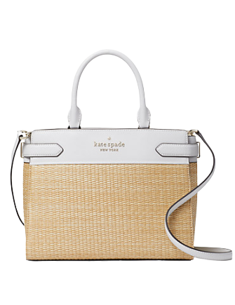 Kate Spade New York Staci Straw Medium Satchel