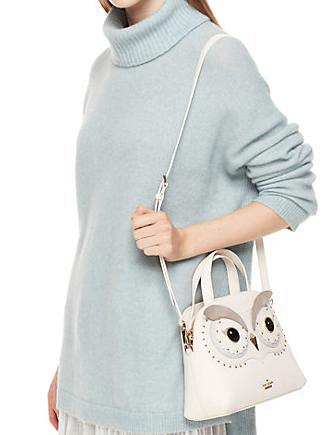 bbe41212f2004 Kate Spade New York Star Bright Owl Small Lottie Satchel