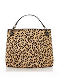 Kate Spade New York Streetcar Darya Leopard Print Haircalf Tote